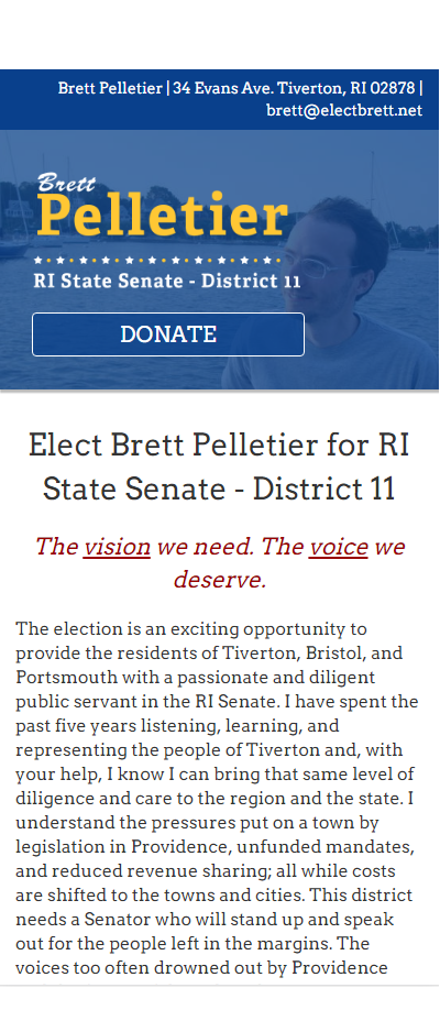 Elect Brett - Image 1